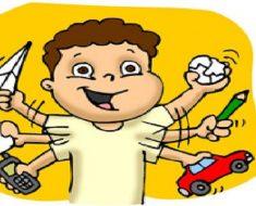 Como lidar com crianças hiperativas? na escola e em casa.