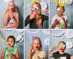 Enfeites para fotos no Dia das Crianças
