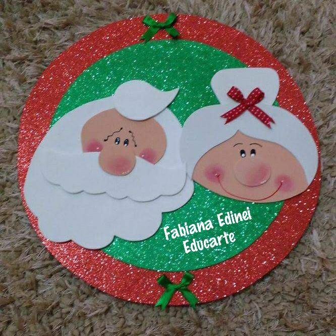 Ideias Para A Decoração Do Natal Com Moldes Para Imprimir