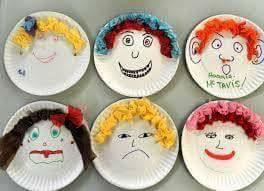 Ideias para trabalhar expressões faciais