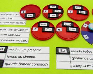 Jogo Educativo dos Pronomes do caso reto - Com fichas e passo a passo.