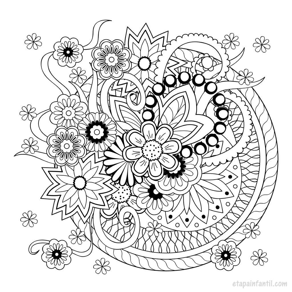Mandalas Para Imprimir E Colorir E Baixar Em PDF
