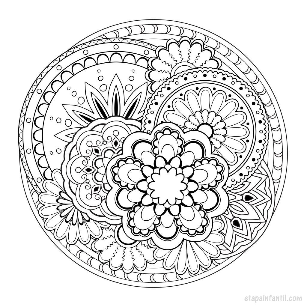Mandalas para imprimir e colorir