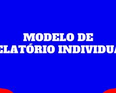 Modelo de relatório individual por aluno - Relatório Final do aluno.