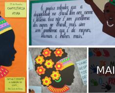 Murais dia da Consciência Negra - Dicas de Mural e Painel.