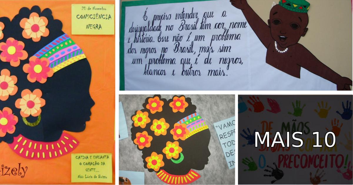 Murais Dia Da Consciência Negra Dicas De Mural E Painel