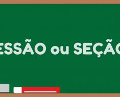 Sessão ou Seção? - Como Escrever Certo? Dicas de Português.