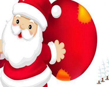 20 Desenhos de Natal para Colorir e Imprimir - Papai Noel.