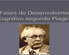 As fases do desenvolvimento cognitivo segundo Piaget