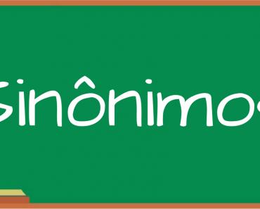 Atividades com Sinônimos - Para Imprimir - Series Iniciais - Alfabetização.
