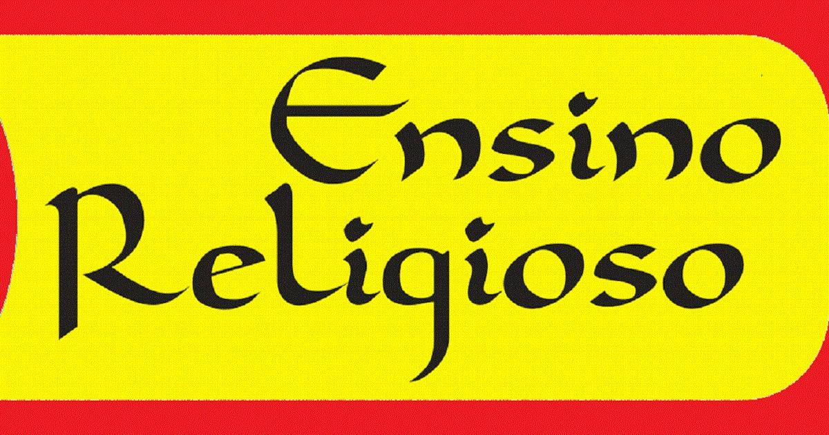 Atividades de Ensino Religioso 1 ano - Para Imprimir - Series Iniciais.