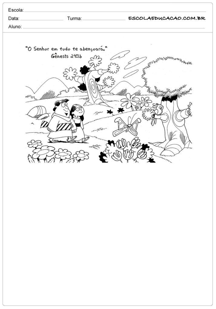 Atividades de Ensino Religioso 2 ano - Para Imprimir - Series Iniciais.