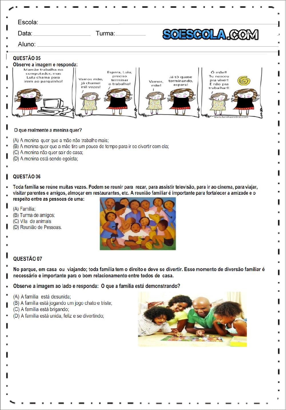 Atividades de Geografia 2 ano - Para Imprimir - Ensino Fundamental.
