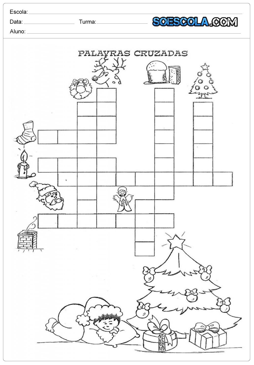 25 Atividades de Natal para imprimir - Atividades Educativas em PDF