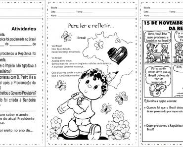 Atividades Proclamação da República 2 ano - Para Imprimir.