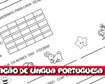 Avaliação de Língua Portuguesa 2 ano para imprimir e baixar em PDF
