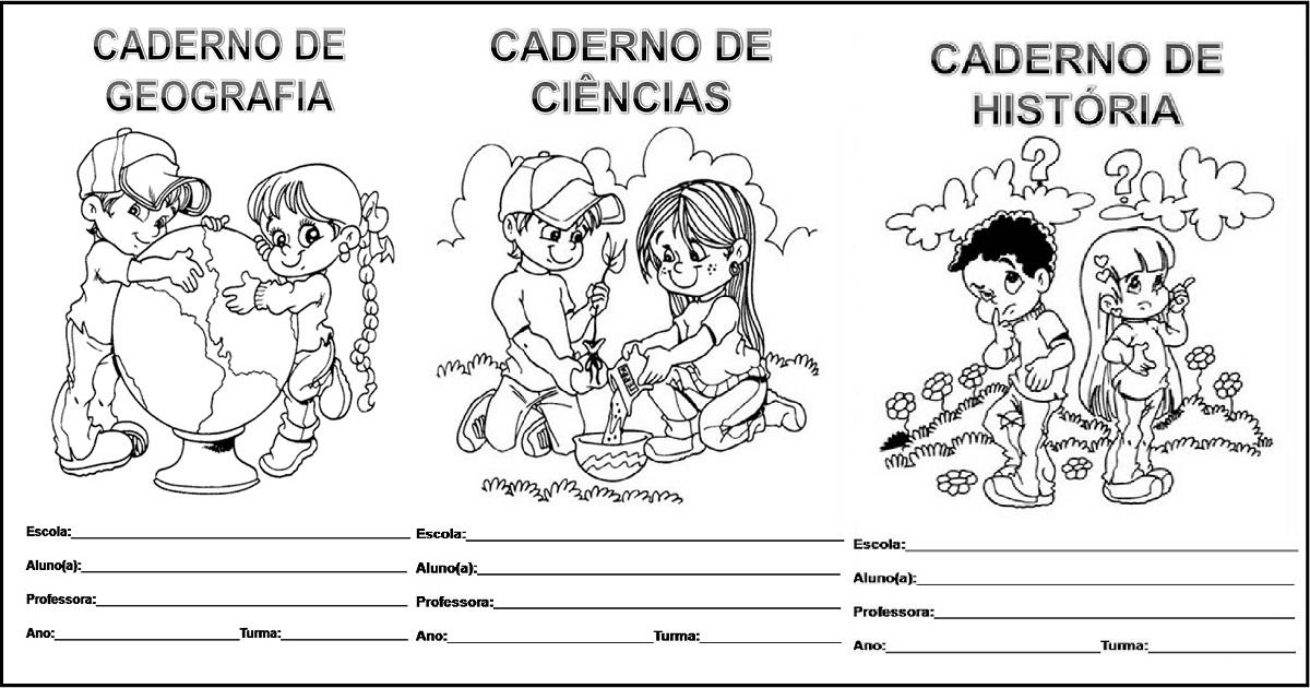 Capas De Caderno Para Imprimir E Baixar Em Pdf Modelos Prontos