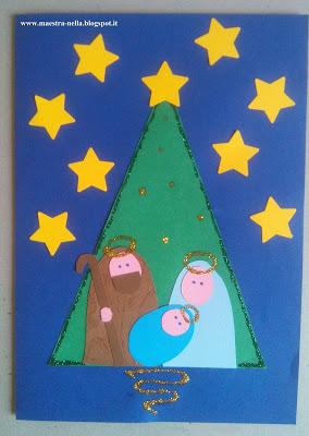 Cart o de natal com molde s escola for Maestra gemma recite di natale