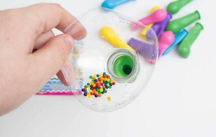 Balões Sensoriais - Como fazer balões sensoriais passo a passo.