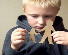 Consequências de ter um pai distante para um criança.