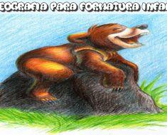 Coreografia para formatura infantil para imprimir - Irmão Urso