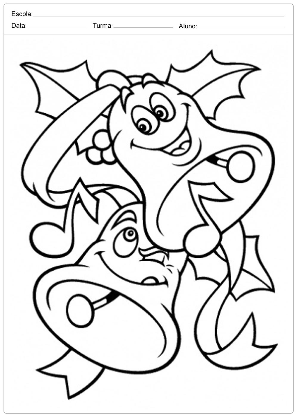 Desenhos De Natal Para Colorir E Imprimir Desenhos Natalinos Em Pdf