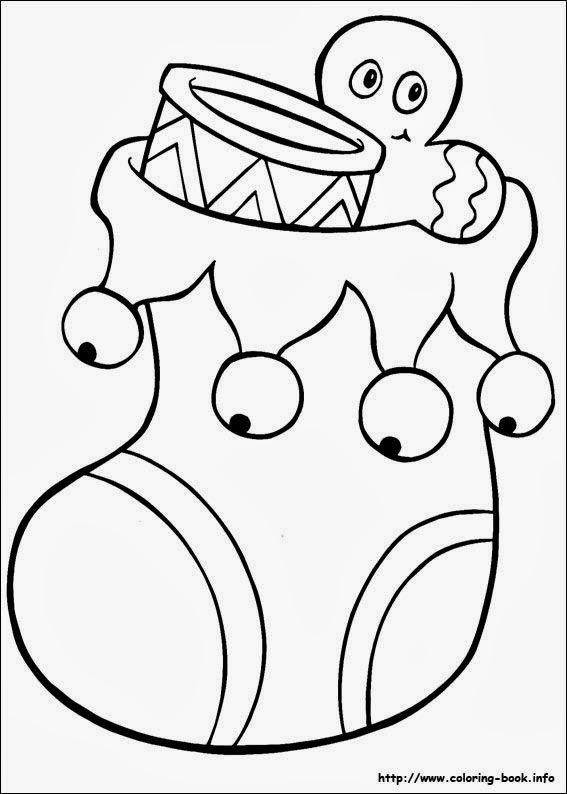 Desenhos do Natal para Colorir e Imprimir - 25 de Dezembro.