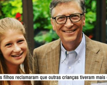 Bill Gates revela a idade segura para as crianças usarem celular, entenda