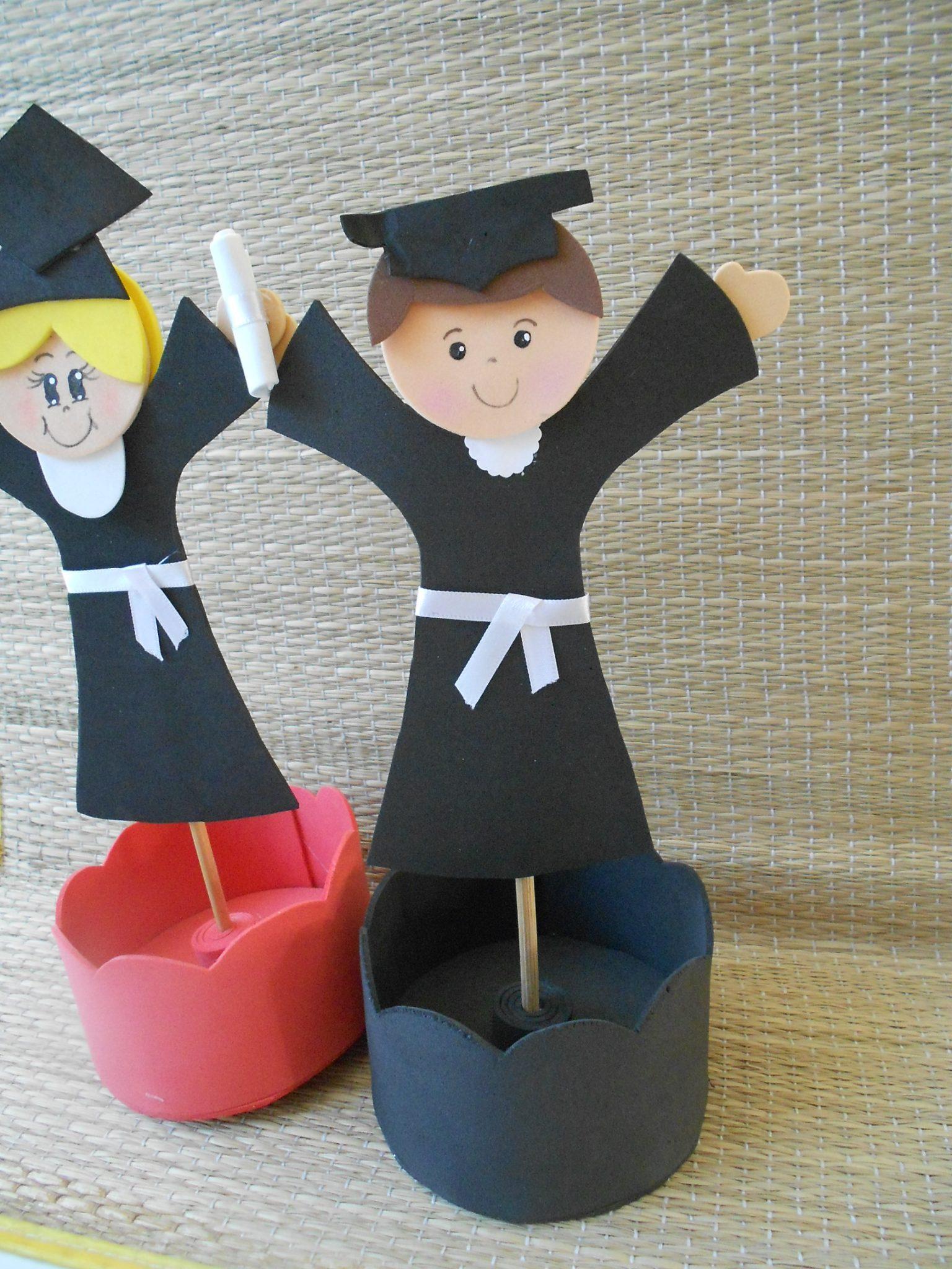 Ideias de centro de mesa para formatura infantil da escola