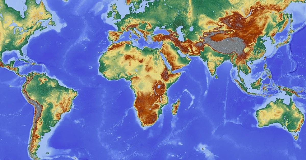Mapa Múndi.