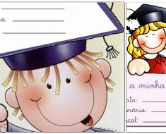 Modelos de convites para formatura infantil - Convites Ilustrados