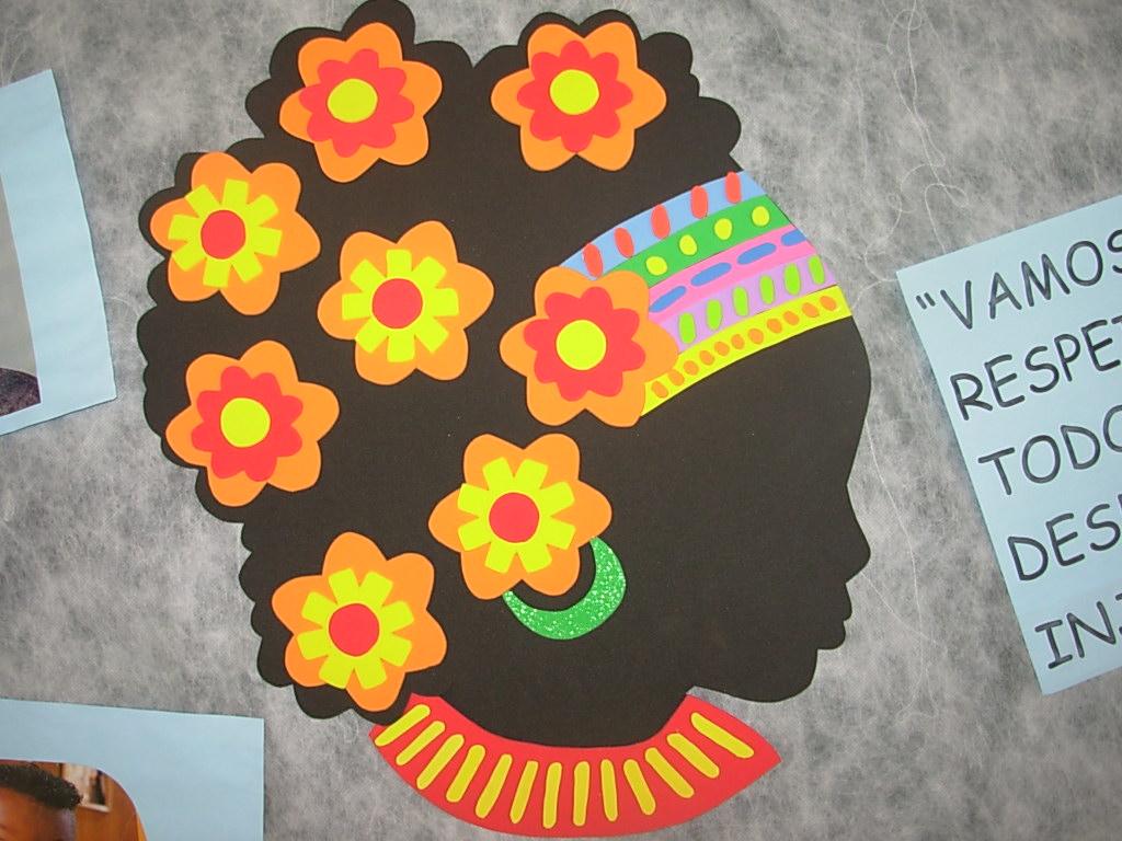 Painéis e Murais Dia da Consciência Negra - 20 de Novembro.