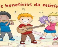 A música e seus benefícios na educação e na formação do caráter da criança
