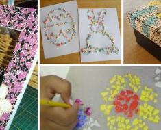 Atividades de Artes com Casca de Ovo - Ideias e Sugestões de Atividades