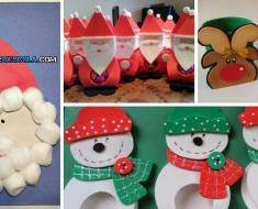 Lembrancinhas de Natal para Educação Infantil.
