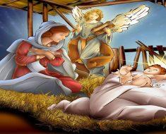 Linda de Mensagem de Natal