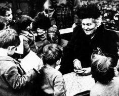 O interesse em educar a humanidade deve estabelecer laços mais íntimos, por Maria Montessori.