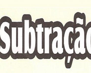 2 Atividades de Subtração - Continhas de Subtração para imprimir
