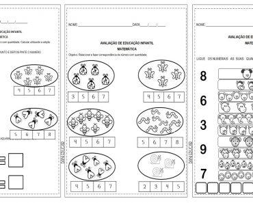 Avaliações Bimestrais para Educação Infantil de Português e Matemática