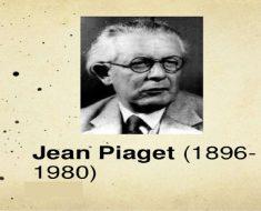 Um pouco da história de Jean Piaget