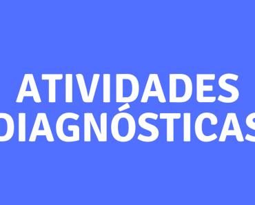 Atividades Diagnósticas para Series Iniciais