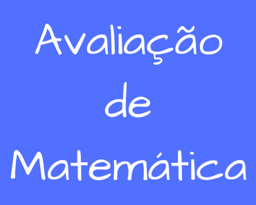 Avaliação de Matemática para o 5 ano - Atividades Educativas