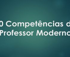 Competências do professor moderno