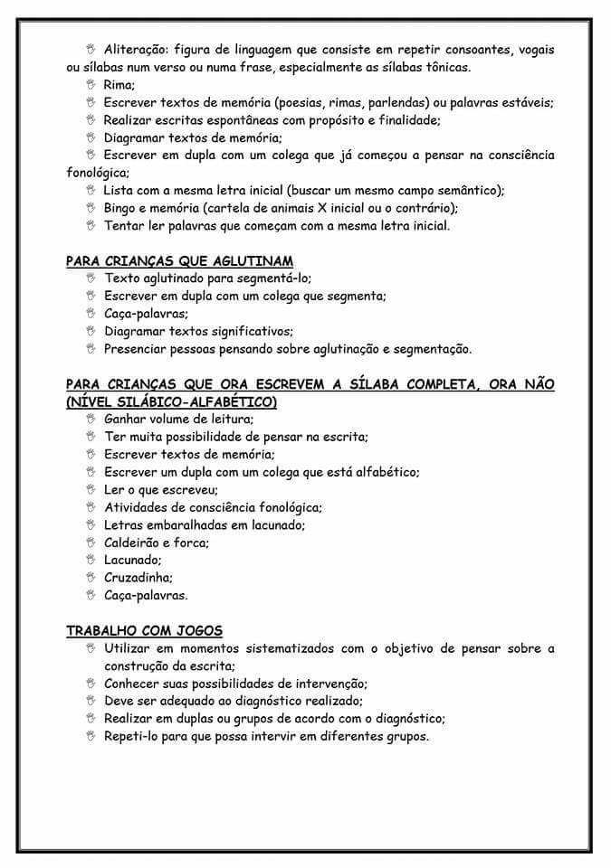 Estratégias para diagnóstico e as possíveis formas de agrupamentos - Para imprimir