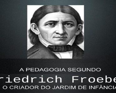 Frederico Frobel, o pedagogo alemão que inventou o jardim de infância