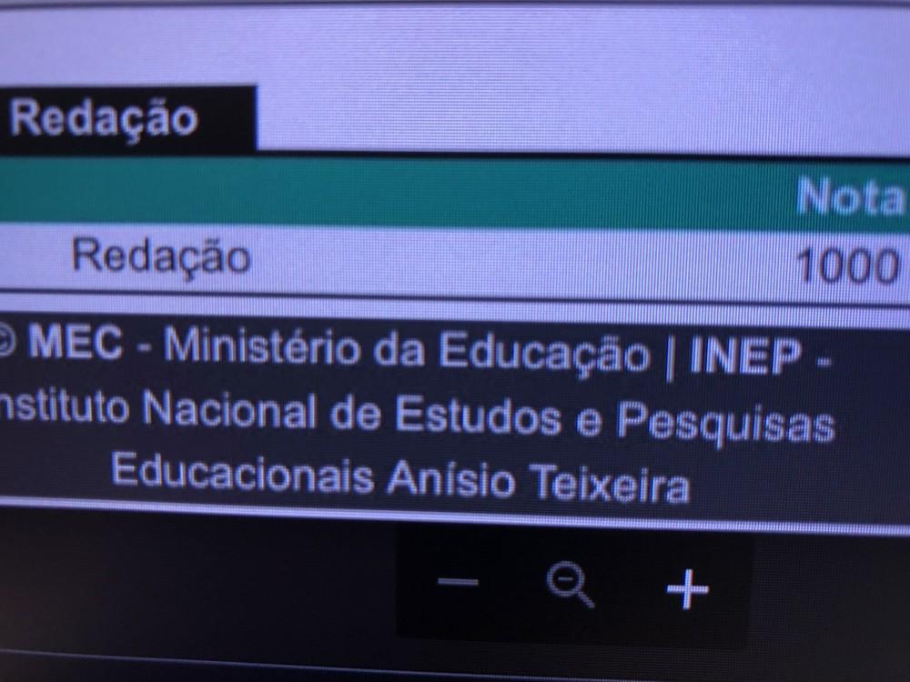 'Não sou nenhum gênio, apenas me dediquei', diz estudante do Rio com nota mil na redação do Enem