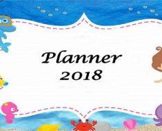 Planner 2018 - Planejamento de Aula - Mensal, Semanal e Diário