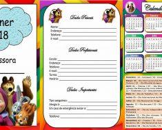 Planner 2018 ilustrado - Planejamento para professores
