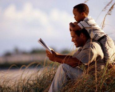 Passe tempo com seus filhos e dê exemplos