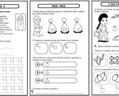 Conhecendo o número 4 – Atividades de Matemática